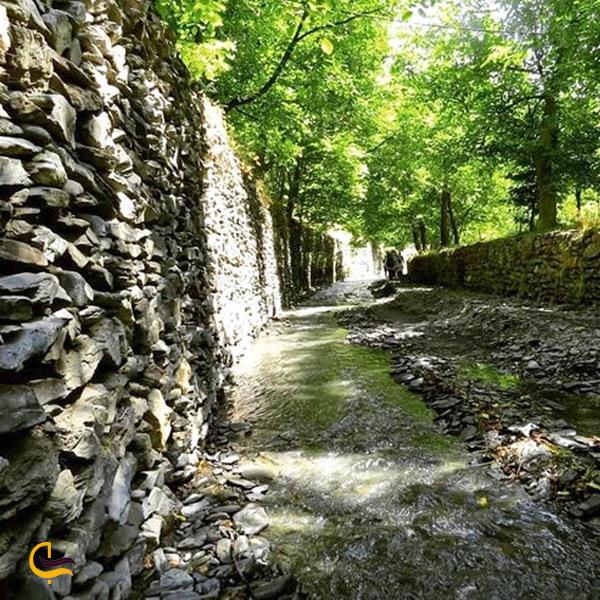 نمایی از روستای نغندر مشهد