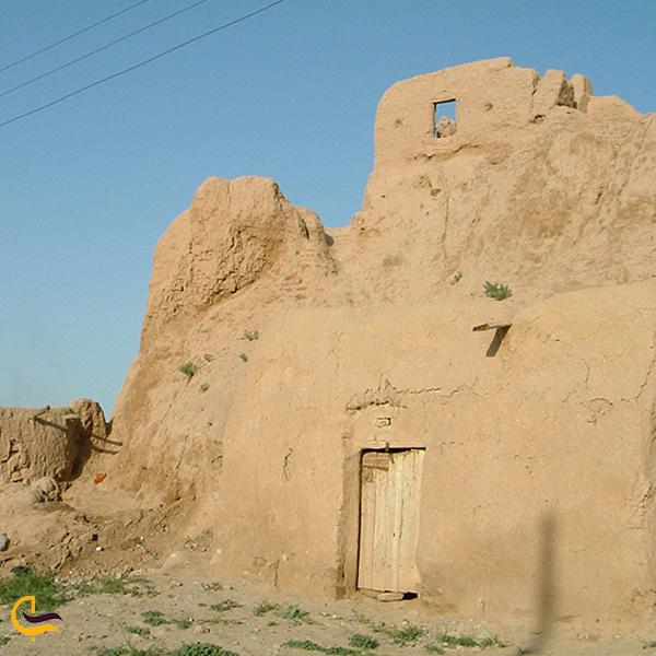 نمایی از خانه قدیمی روستا پاژ