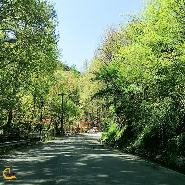 نمایی از روستای زشک مشهد