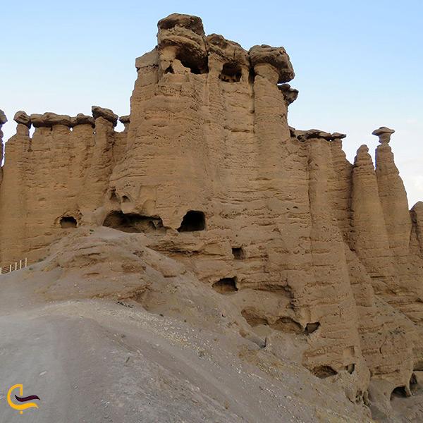 بازدید از قلعه بهستان در ماهنشان زنجان