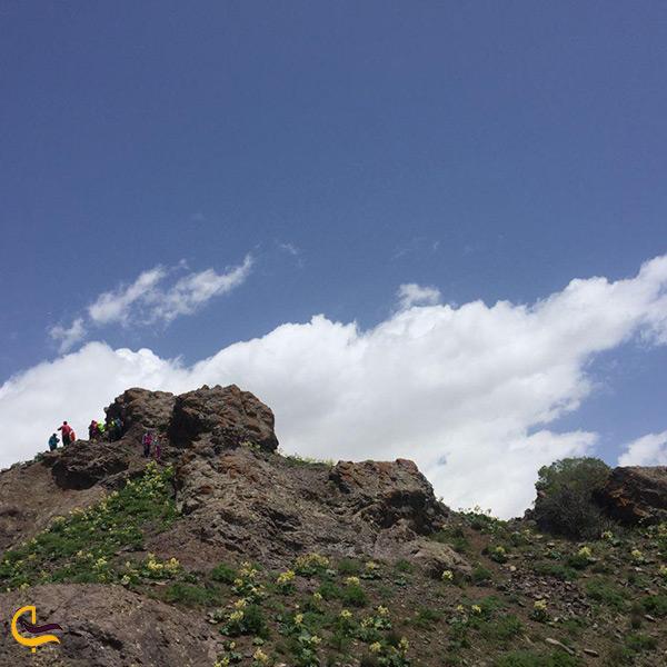 بازدید از قلعه کیقباد کرج