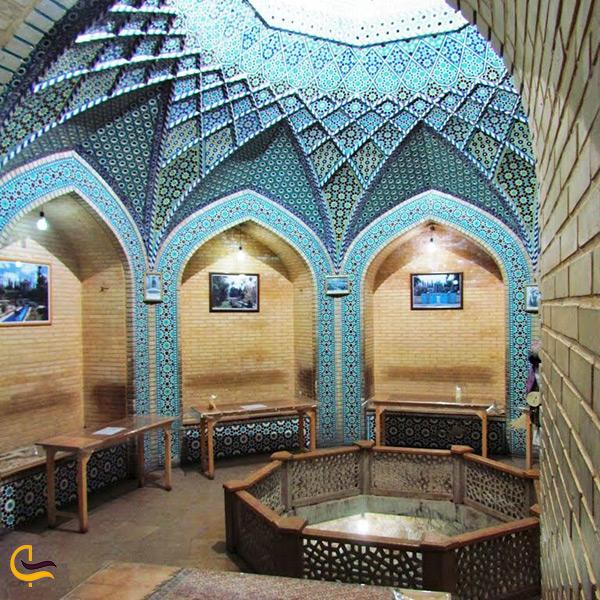 بازدید از حوض سکه سعدیه شیراز