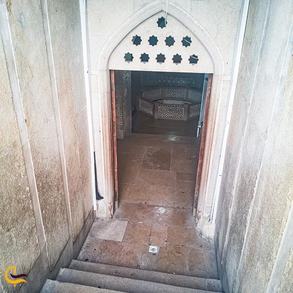 بازدید از حوض ماهی سعدیه شیراز
