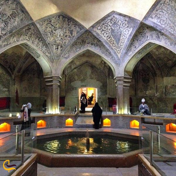 بازدید از حمام وکیل شیراز