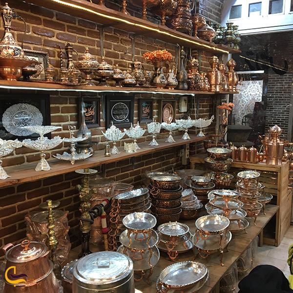 بازدید از بازار بزرگ تبریز