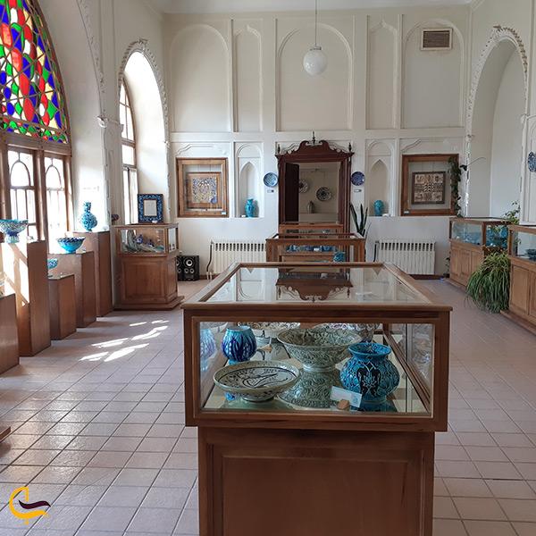 بازدید از موزه سفال تبریز