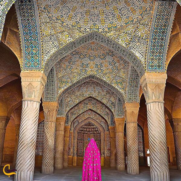 بازدید از مسجد وکیل شیراز