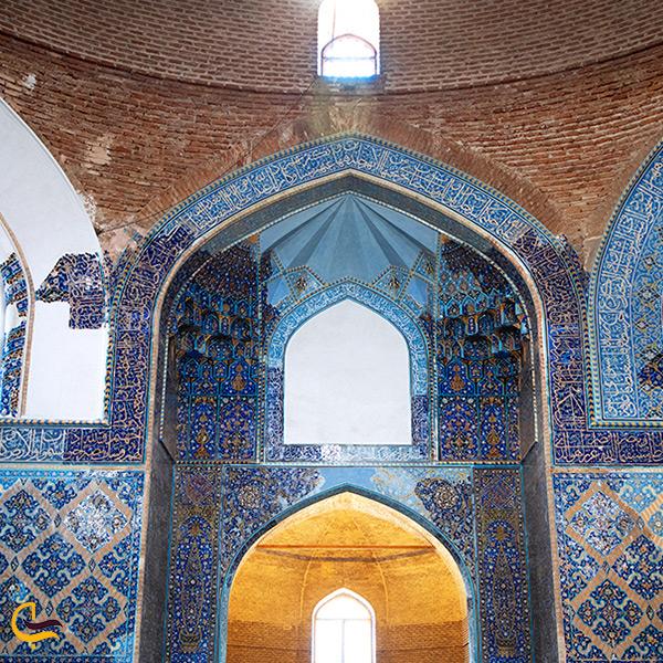بازدید از مسجد کبود تبریز