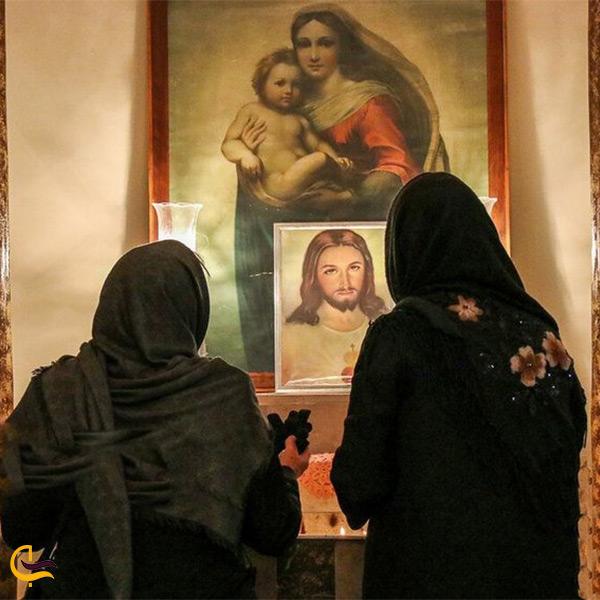 بازدید از کلیسای سورت مسروپ اراک