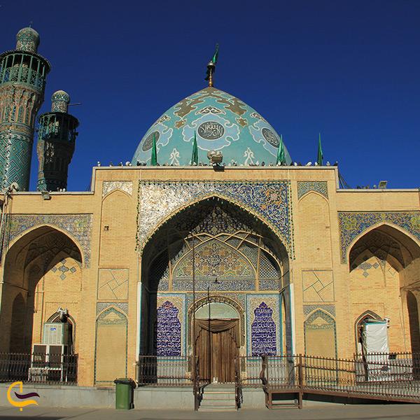 بازدید از امامزاده بی بی زینب خاتون روستای هنجن اصفهان