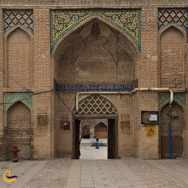 بازدید از مسجد النبی قزوین