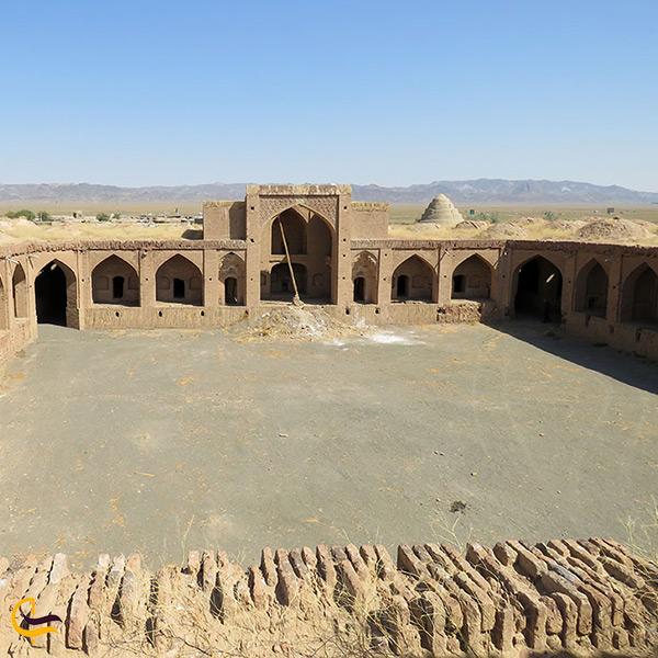 بازدید از جاذبه های تاریخی روستای زعفرانیه سبزوار