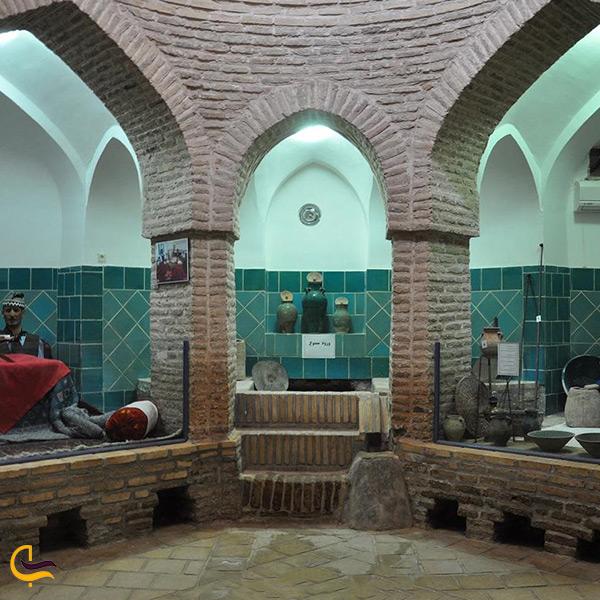بازدید از حمام تاریخی افوشته اصفهان