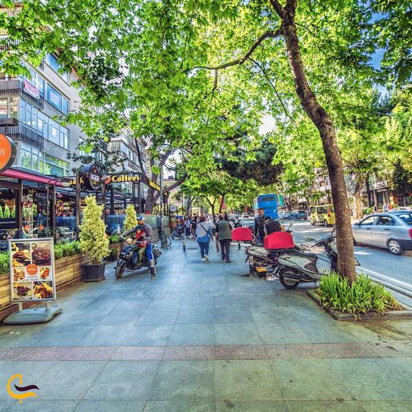 تصویری از خیابان های استانبول