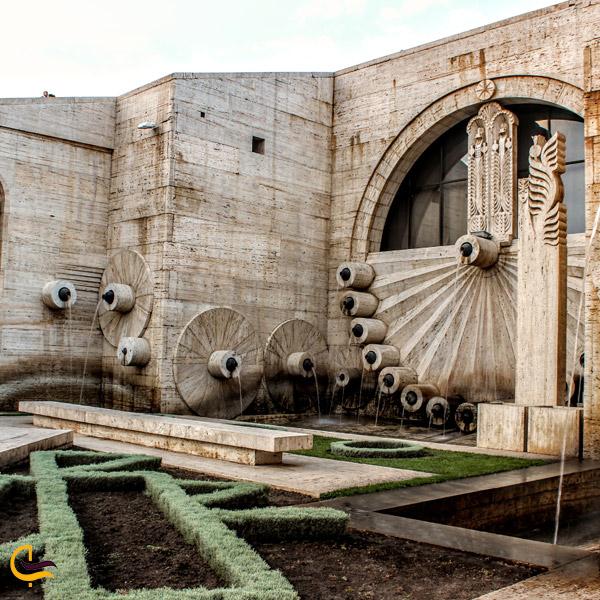 تصویری از آب نمای مجموعه آبشار ایروان