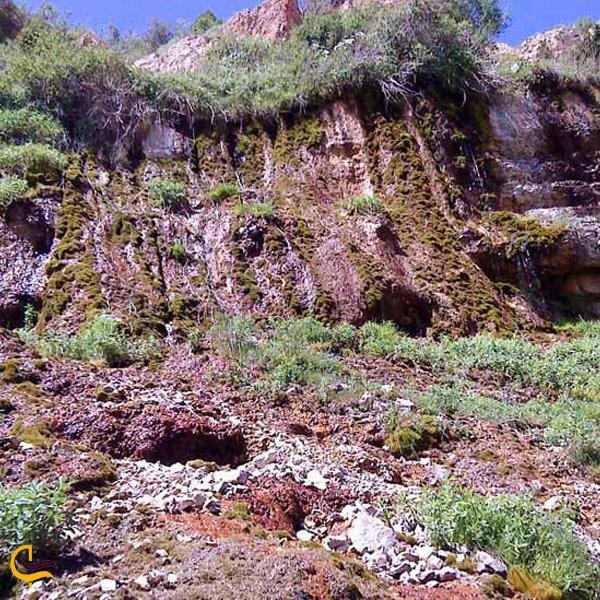 تصویری ازطبیعت آبشار جم اسفراین