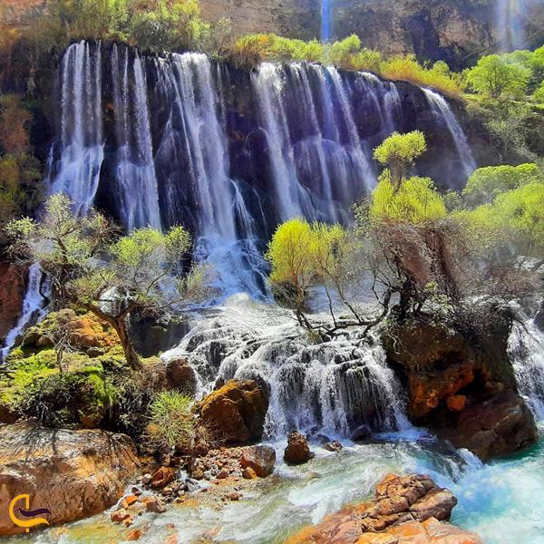تصویری از آبشار و طبیعت آبشار شوی دزفول
