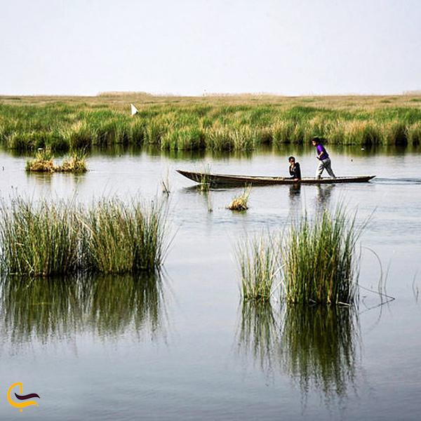 تصویری از تلاب نیشکر خرمشهر