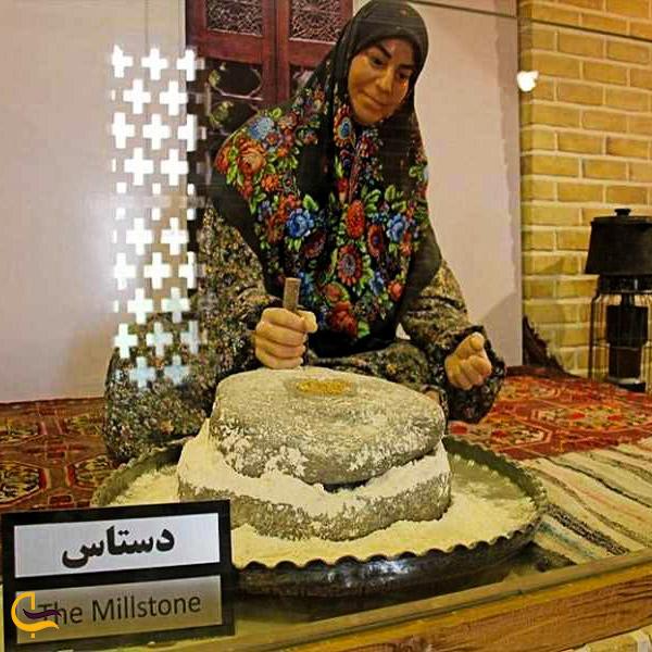 نمایی از آثار موزه نان مشهد