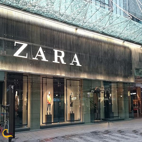 فروشگاه زارا در خیابان بغداد استانبول