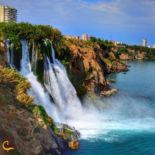 تصویری از آبشار آنتالیا