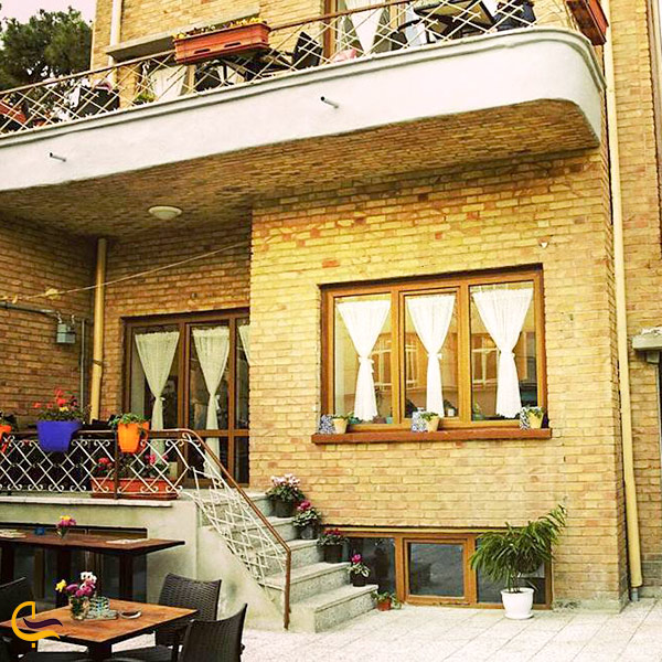 نمایی از کافه انسو تهران