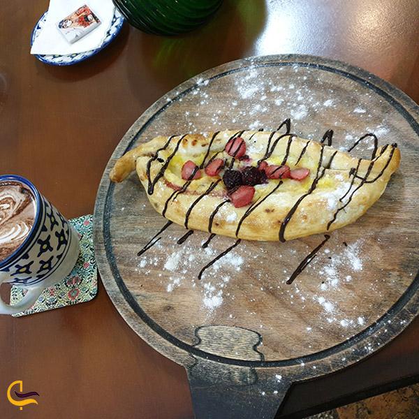 نمایی از کافه ایوان تهران