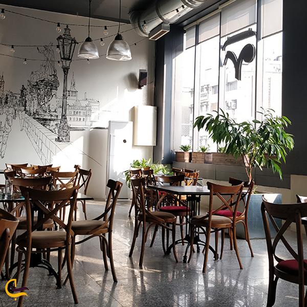 تصویری از کافه موتزارت تهران