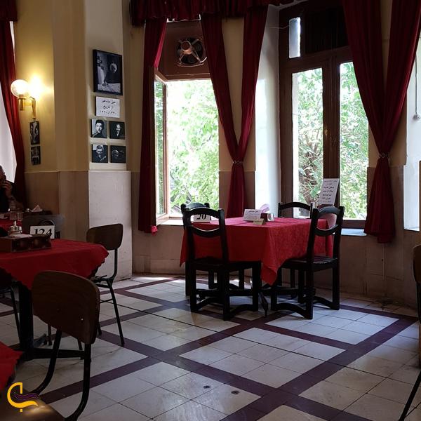 نمایی از کافه نادری تهران
