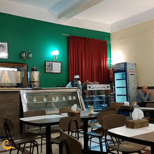 تصویری از کافه نادری تهران