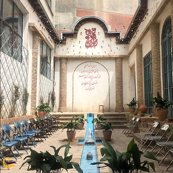 تصویری از کافه روحی تهران
