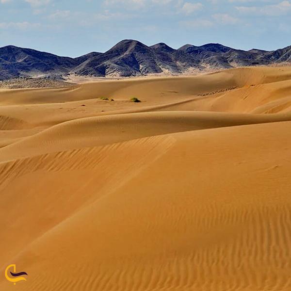 تصویری از کویر مرنجاب