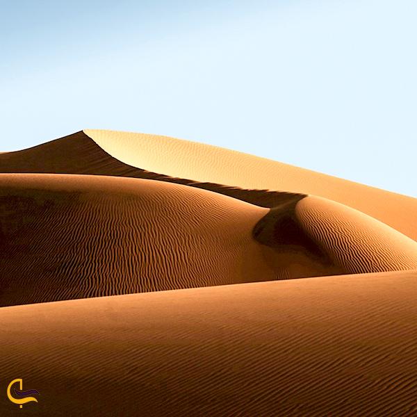 نمایی از کویر مرنجاب
