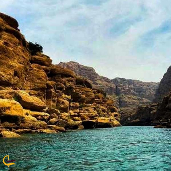 تصویری از آب و رود پرخروش چال کندی دزفول