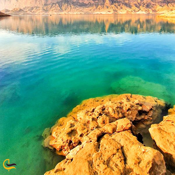 نمایی از دریاچه شهیون