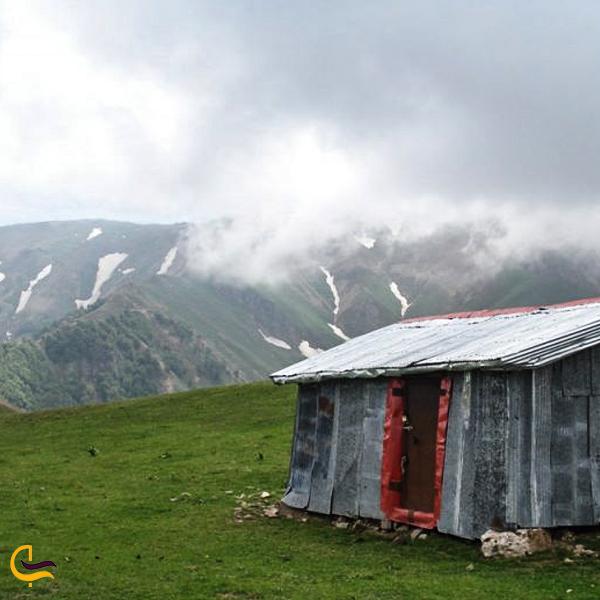 تصویری از منطقه کوهستانی فومن