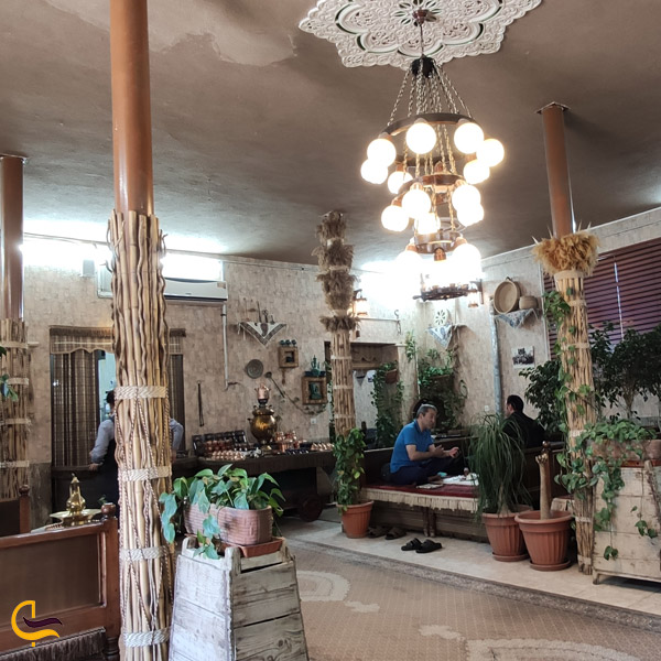 تصویری از رستوران قاجاریه دامغان