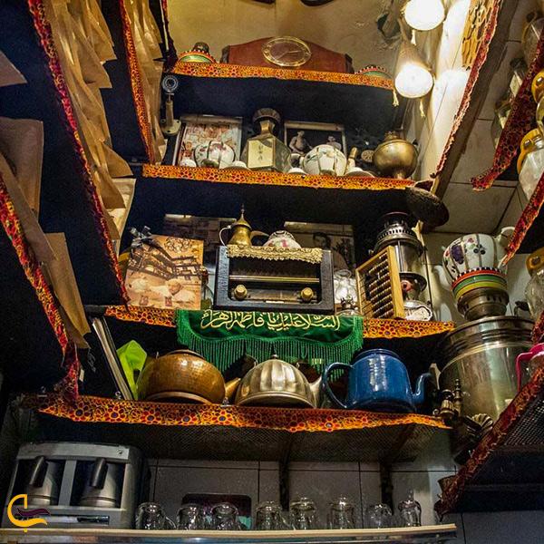 تصویری از قهوه خانه حاج علی درویش در تهران