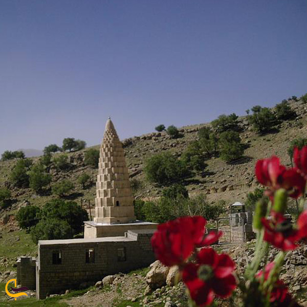 تصویری از آرامگاه امام زاده بویر در طبیعت اندیکا
