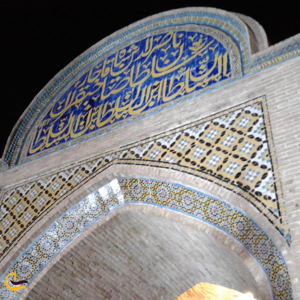 تصویری از دروازه ارگ سمنان