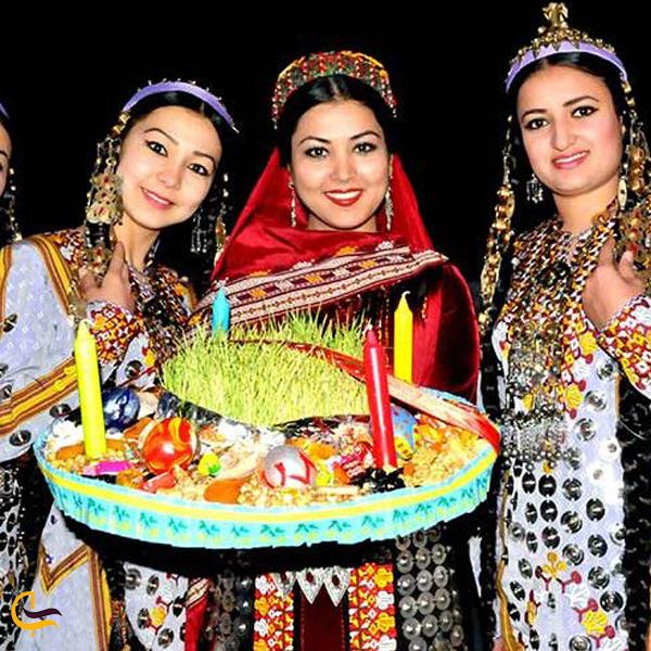 تصویری از مراسمات نوروزی در قزاقستان