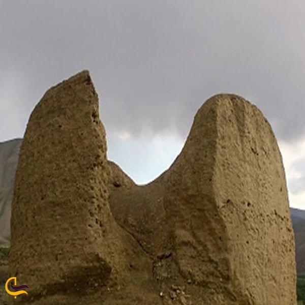 تصویری از برج خشتی گیلوان خلخال
