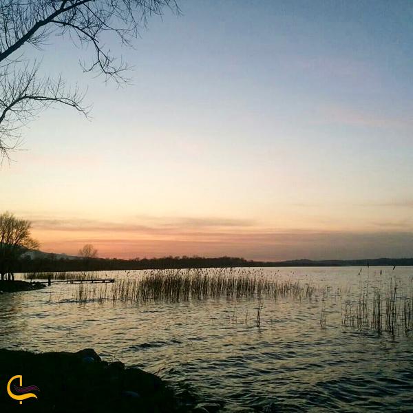 تصویری از دریاچه ساپانچا استانبول