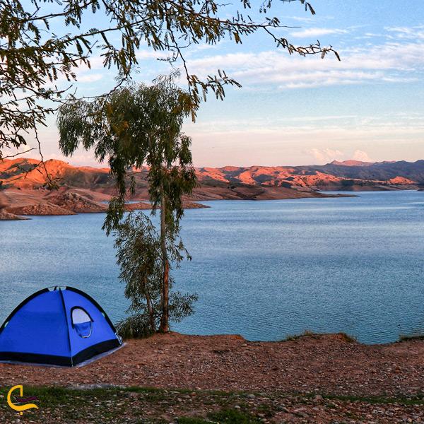 تصویری از کمپینگ در دریاچه شهیون دزفول