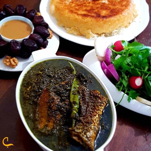 نمایی از غذای محلی خرمشهر