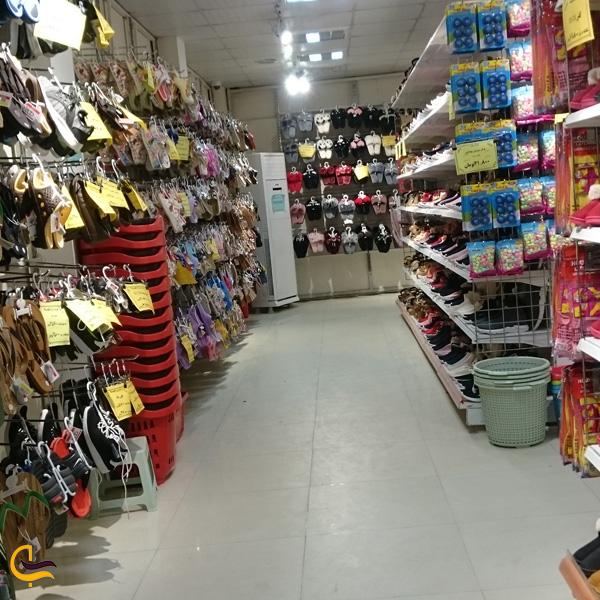 تصویری از مغازه در مرکز خرید اروند
