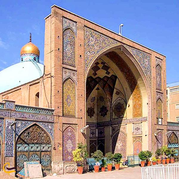 تصویری از مسجد امام تهران