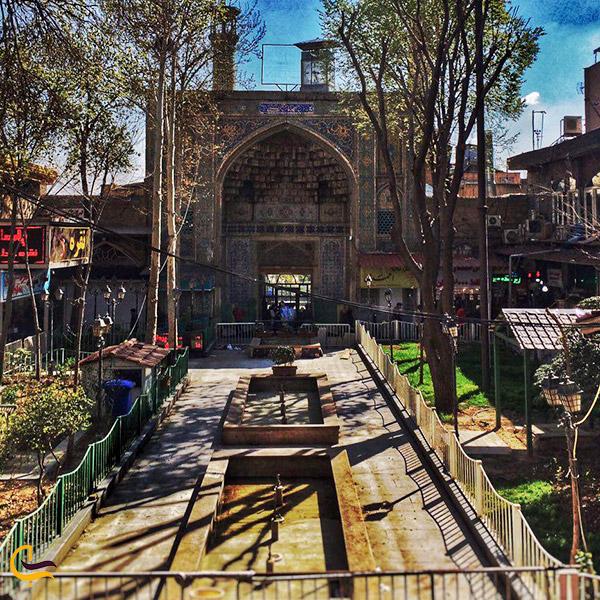 نمایی از مسجد جامع تهران
