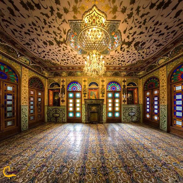 نمایی از کاخ گلستان تهران
