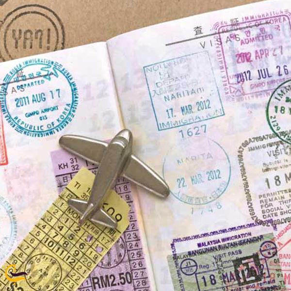 تصویری از پاسپورت ترکیه